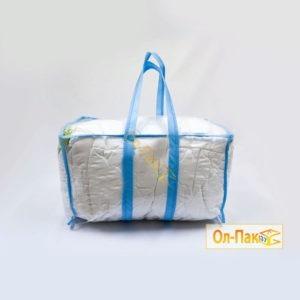 Упаковка, сумка для набора в роддом из спанбонда