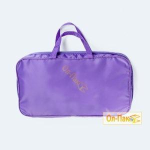 Упаковка для одеял фиолетового цвета