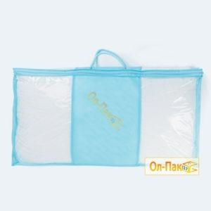 Упаковка для одеял голубого цвета