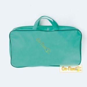 Упаковка для одеял зелёного цвета